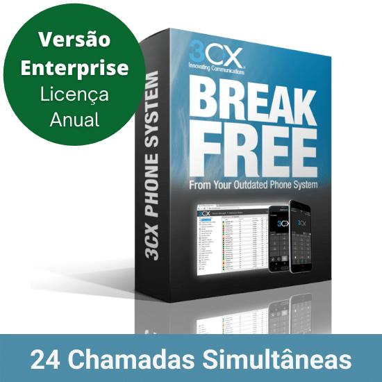3CX-Enterprise-24-Chamadas-Simultaneas