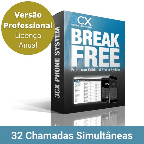 3CX-Professional-32-Chamadas-Simultaneas